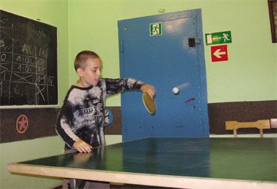"""""""Pod Gwiazdami"""" mo�na pogra� w tenisa sto�owego"""