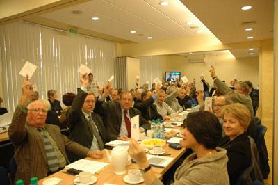 Przedstawicieli zagłosowali za społeczną sprawiedliwością i przeciw podziałom na lepszych i gorszych w kwestii funduszu remontowego