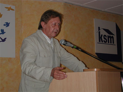 Wystąpienie Zbigniewa Durczoka - szefa Regionalnego Związku Rewizyjnego Spółdzielni Mieszkaniowych