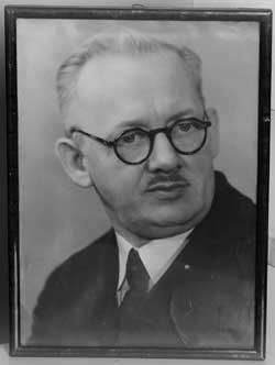 Założyciel firmy dziadek Augustyn Niesporek