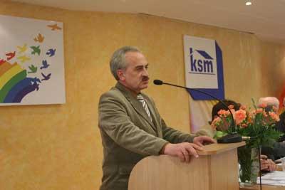 Wystąpienie Przewodniczącego Rady Nadzorczej KSM – Zbigniewa Olejniczaka